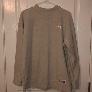 cream sweater